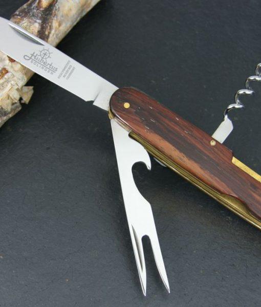 Hubertus Take-Apart Picnic Knife Wood