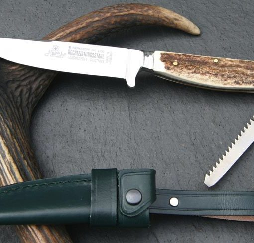 Hubertus Classic Hunting Knife with Saw