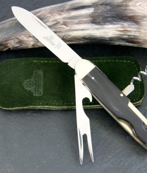 Hubertus Take-Apart Picnic Knife Wood Deluxe