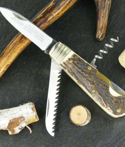 Hubertus Nobility Knife with Saw