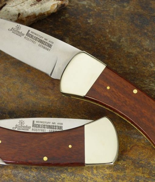 Hubertus Snakewood Back Lock Pocket Knife