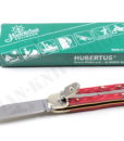 Hubertus Special Pocket Knife Small Red Indian Water Buffalo for sale