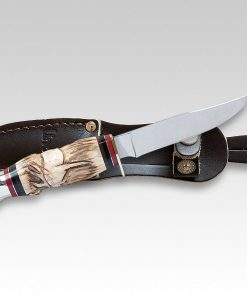 Linder Traveller II Stag Knife for sale